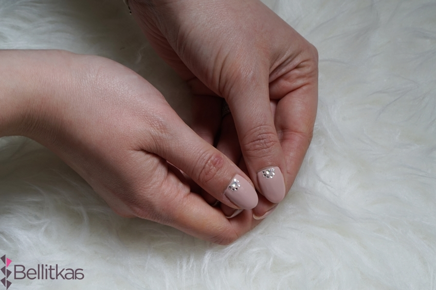 Semilac Frappe i Diamond Ring