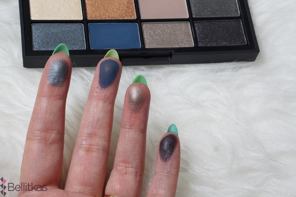 Lamour Toujours Lamour marki NARS zawiera zarówno matowe jak i błyszczące kolory.