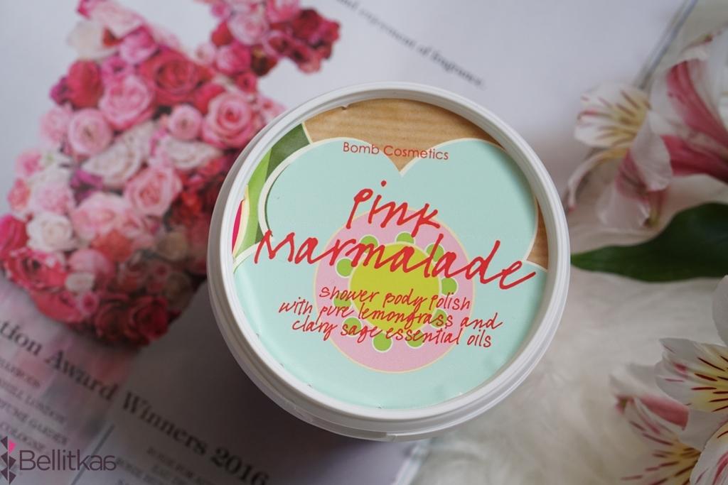 pink marmalade bomb cosmetics kosmetyk pod prysznic