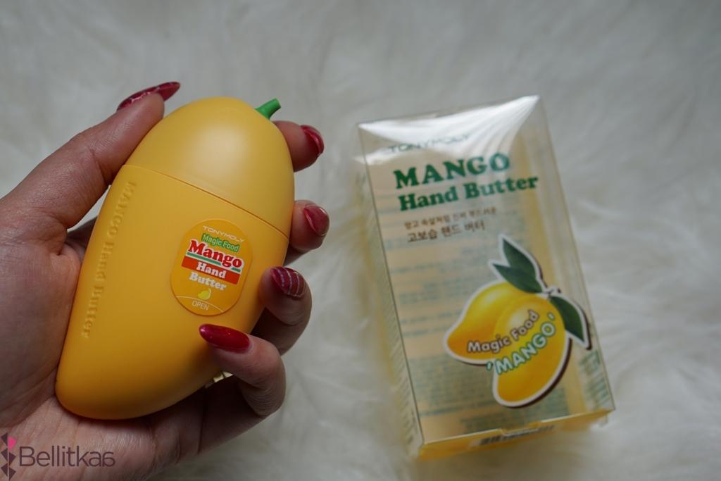 Tony Moly - masło do rąk o zapachu mango