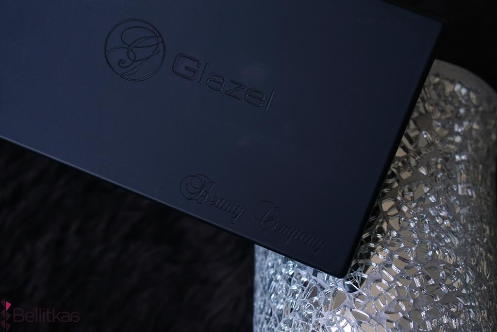 metaliczne cienie do powiek glazel