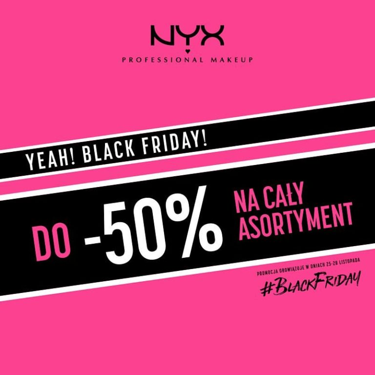 nyx black friday