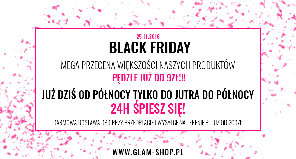 glam shop black friday