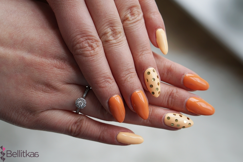 semilac pomaranczowe