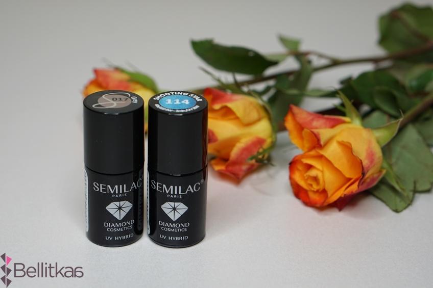 Semilac Grey oraz Shooting Star