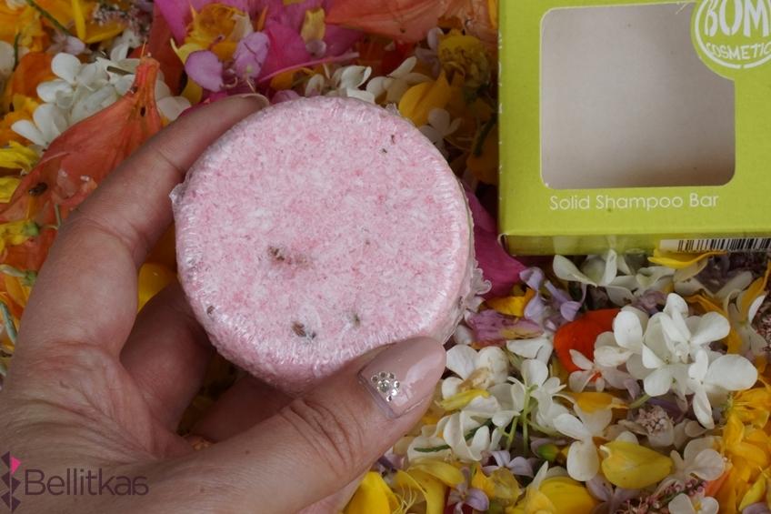 Szampon w kostce Flower Girl - Bomb Cosmetics