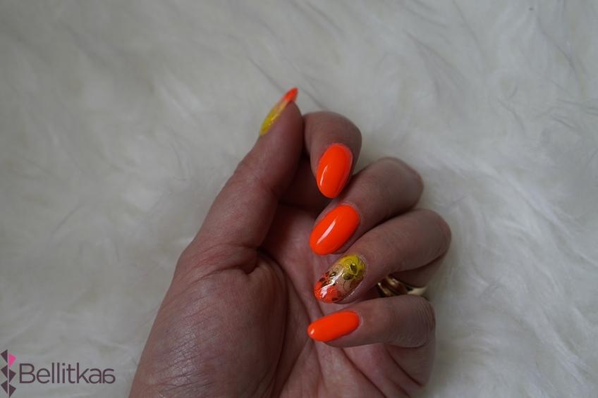 Electric Orange Semilac