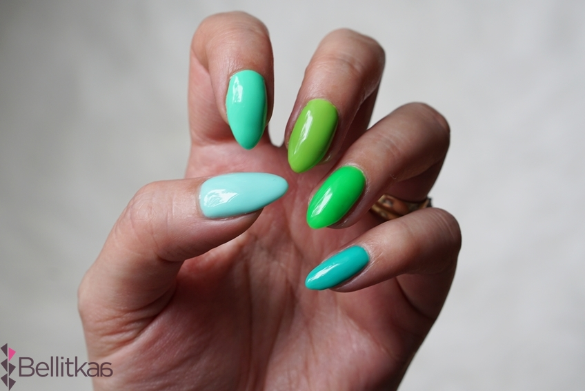 semilac-zielony