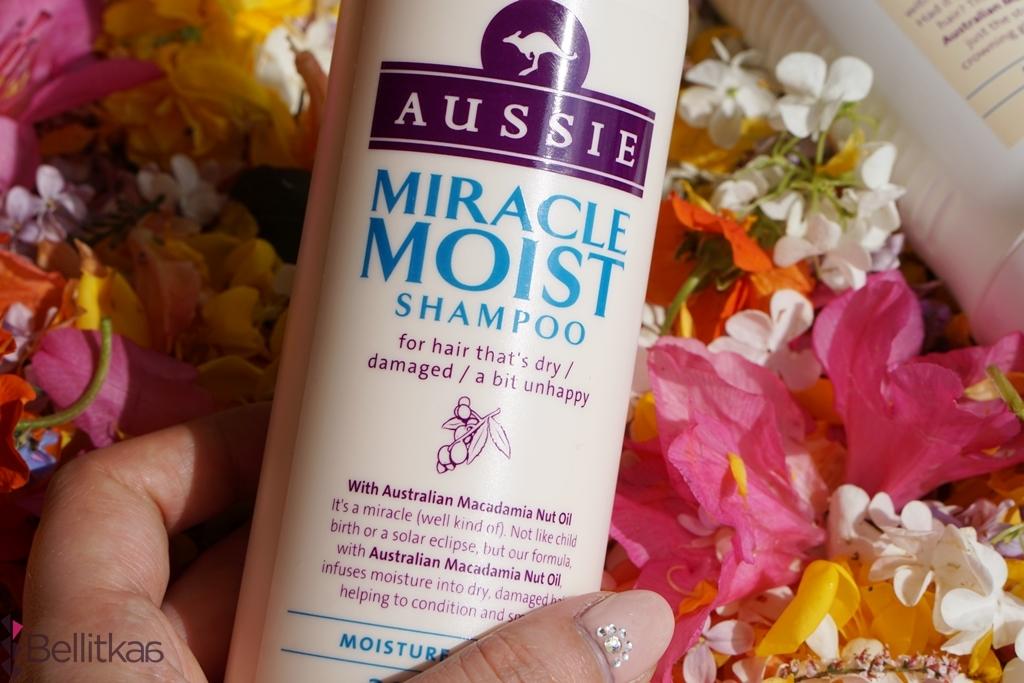 aussie miracle moist szampon działanie
