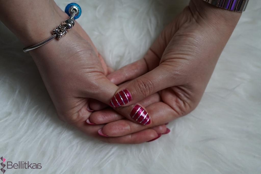 semilac 111 jak wygląda na paznokciach