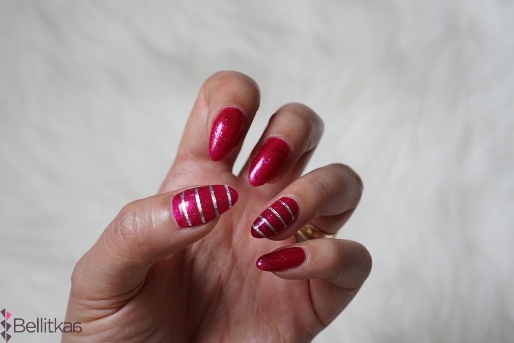 semilac 111 zdjęcia paznokci