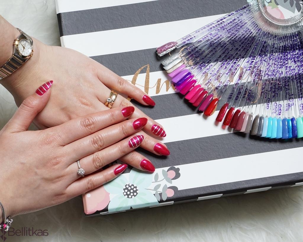 semilac 111 zdjecia paznokci z kolorem